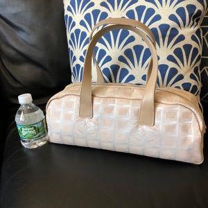Authentic CHANEL Travel Line Shoulder Bag - Cream